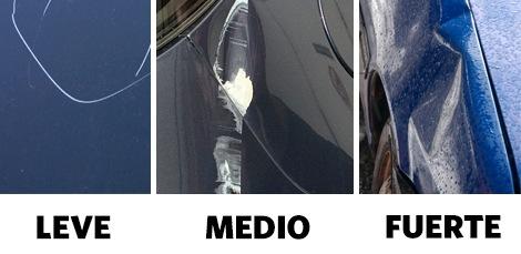 Tipos de Daños en Carrocerías Seat Alicante Prim Torrecillas y Seat Elda Hugo Motor