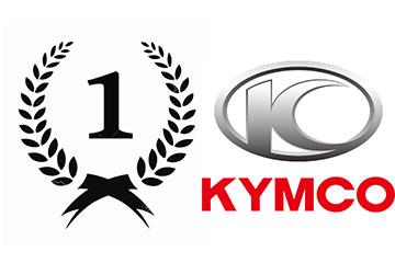 Kymco Alicante Nº 1 en Ventas Febrero 2015