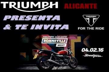 Triumph Alicante presenta la nueva Bonneville Street Twin