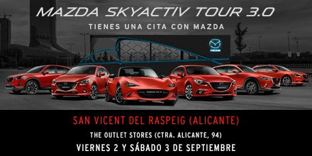 Skyactive Tour Mazda Alicante