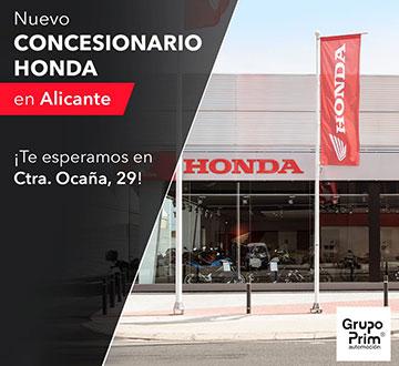 Nuevo concesionario motocicletas Honda para Alicante